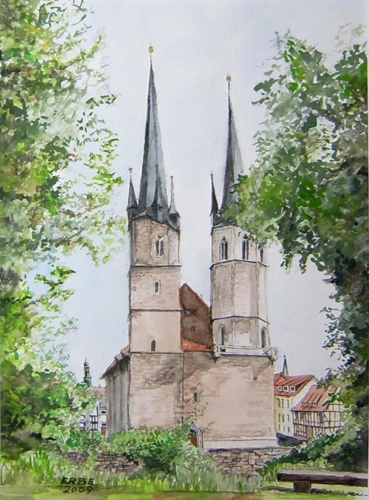 Jakobikirche in Mühlhausen/Thür.