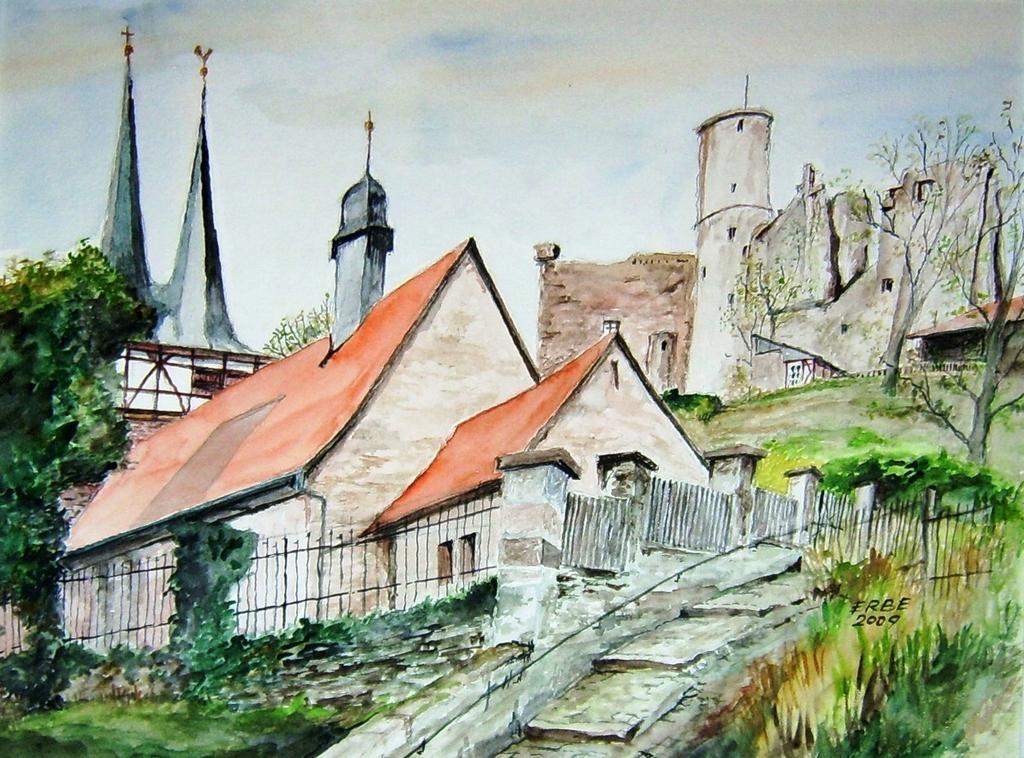 Burgruine Hanstein/ Eichsfeld